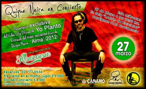 Video Clip YO PLANTO  release 27 märz 2013
