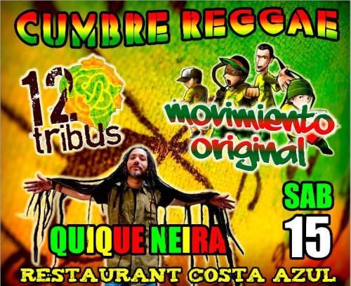QUIQUE NEIRA @ _ Cumbre  Reggae_ STGO_15 Junio _
