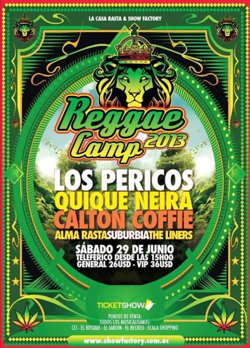 QN ECUADOR Reggae Camp 29 June 2013