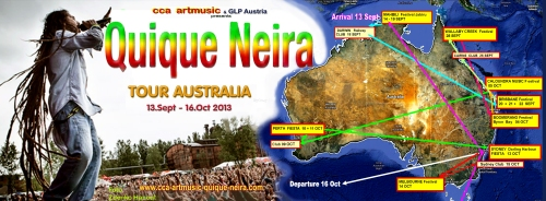 QUIQUE NEIRA AUSTRALIAN TOUR 2013