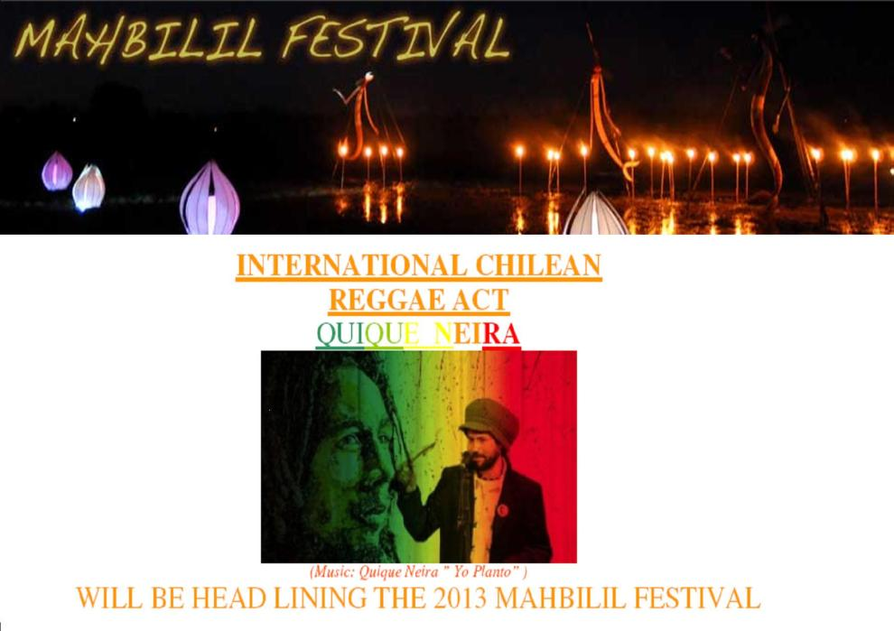Quique Neira _Mahbilil Festival  Jabiru 2013
