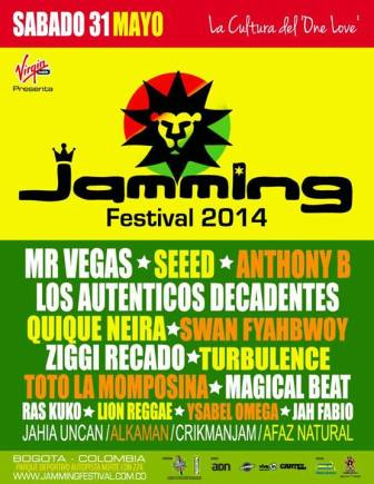 QN_31 May 2014 Jamming Festival Colombia