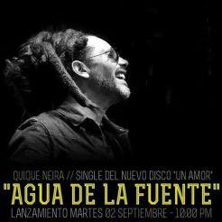 Quique Neira _ Agua de la Fuente _ Single 2014