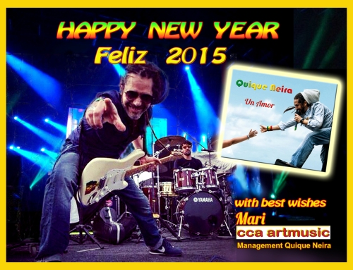 Happy  New Year _ Feliz 2015
