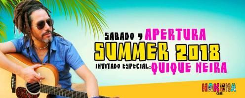 09 dez 17 Apertura Summer 2018 feat Quique Neira