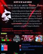 24.11.18 - 6 festival de los artes