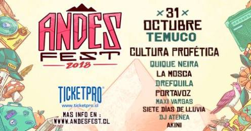 31 Oct 18 Andes Fest Temuco