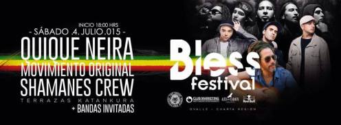 Bless Festtival Ovalle 4 July 2015