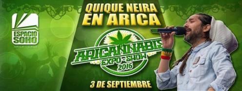 QN 03 Sept 16 _Aricannabis 2016 -Arica Chile