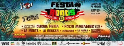 QN 14 Mai 2016_FestiRoots Reggae Festival en Magdalena del Mar Lima Peru